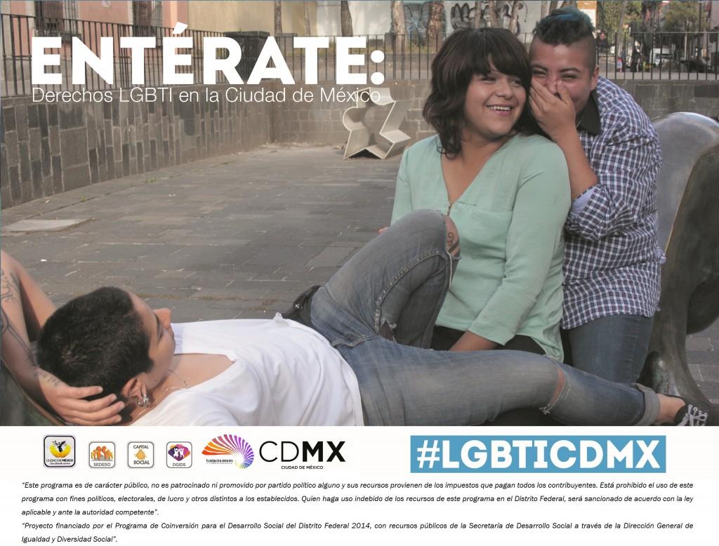 Comparte #LGBTICDMX